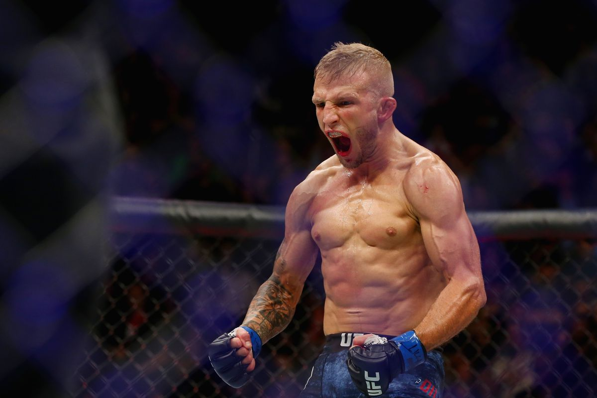 UFC: T.J. Dillashaw and Stephen Thompson star in a Van Heusen ad - T.J. Dillashaw