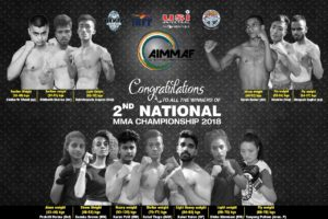 Indian MMA: New talent rises at 2nd AIMMAF National MMA Championship in Delhi - AIMMAF