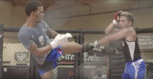[VIDEO] Kevin Lee's Brother Spars with Joseph Benavidez ahead of his BRAVE 14 debut. -