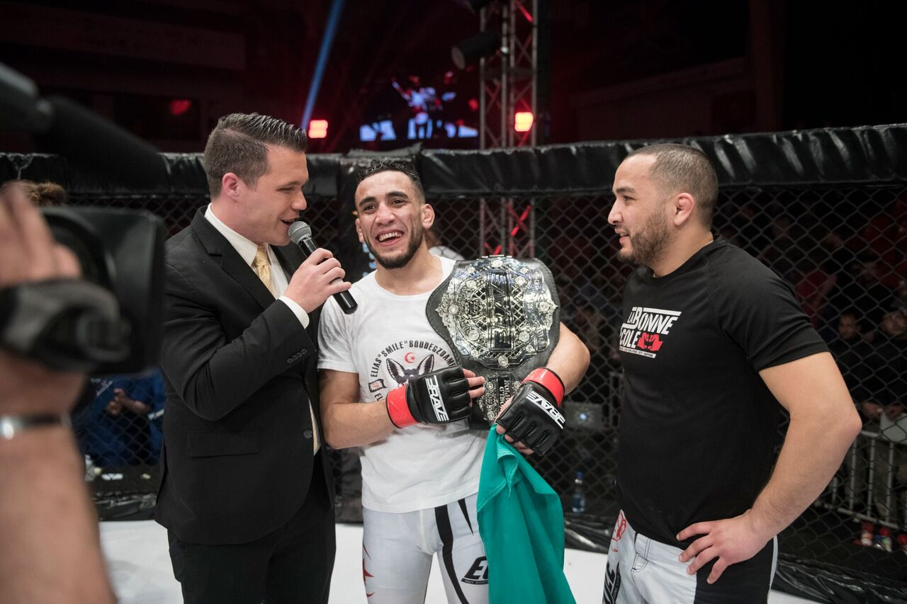 Champion Elias Boudegzdame in demand for next title defense - Elias Boudegzdame