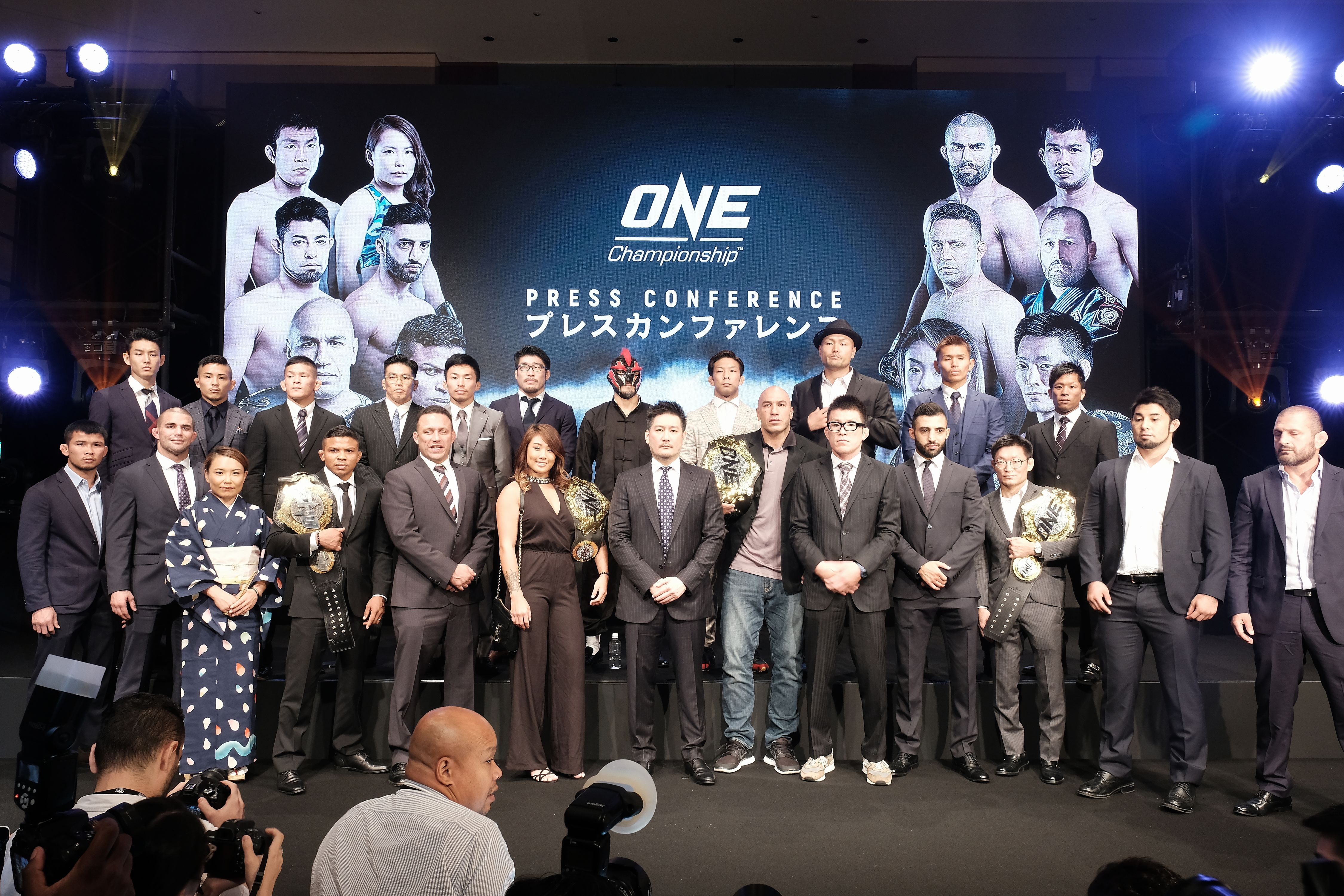 ONE CHAMPIONSHIP OFFICIALLY ANNOUNCES LIVE EVENT IN TOKYO SCHEDULED FOR MARCH 2019 - ONE CHAMPIONSHIP