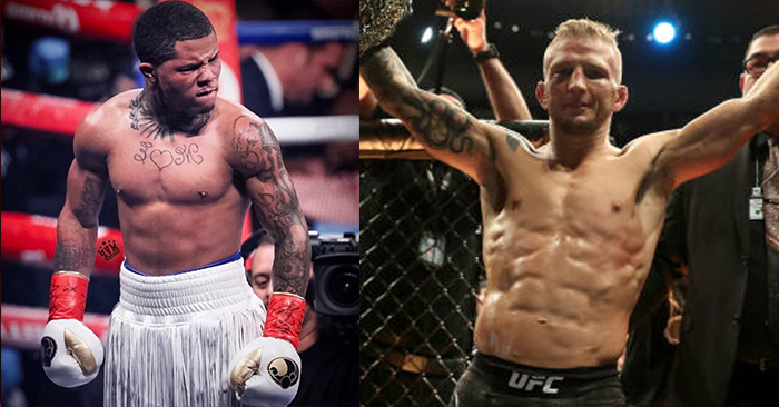 T.J Dillashaw responds in stlye to Gervanto Davis call out. -