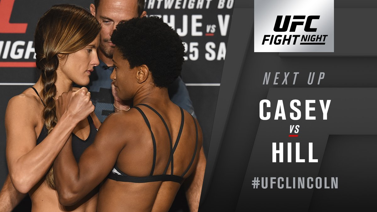 UFC Fight Night 135 Results - Cortney Casey Edges Angela Hill In a Split Decision Victory -