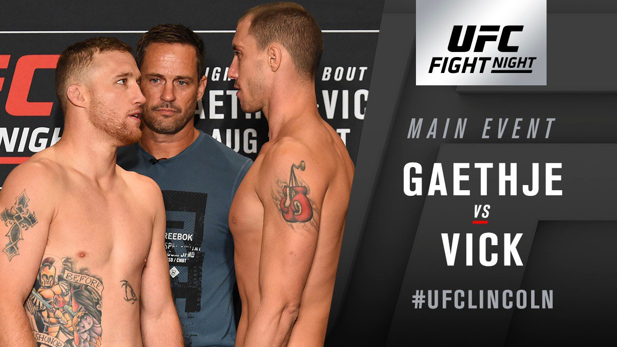 UFC Fight Night 135 Results - Justin Gaethje Put James Vick to Sleep in the First Round -