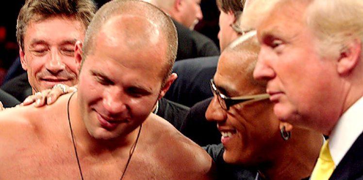 MMA: Fedor Emelianenko received an offer from the FBI at Bellator 198 - Emilianenko