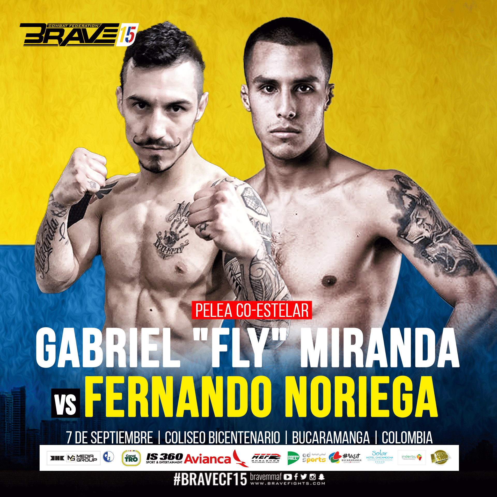 "Gabriel ""Fly"" takes on Fernando Noriega at Brave 15 - Brave 15"