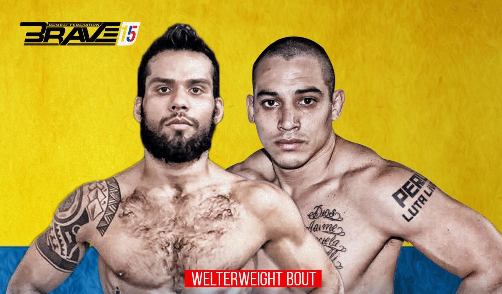 Geraldo Neto debuts against Jaime Cordova at Brave 15 -