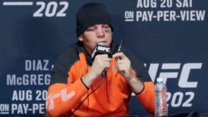 Nate Diaz calls special press conference. -