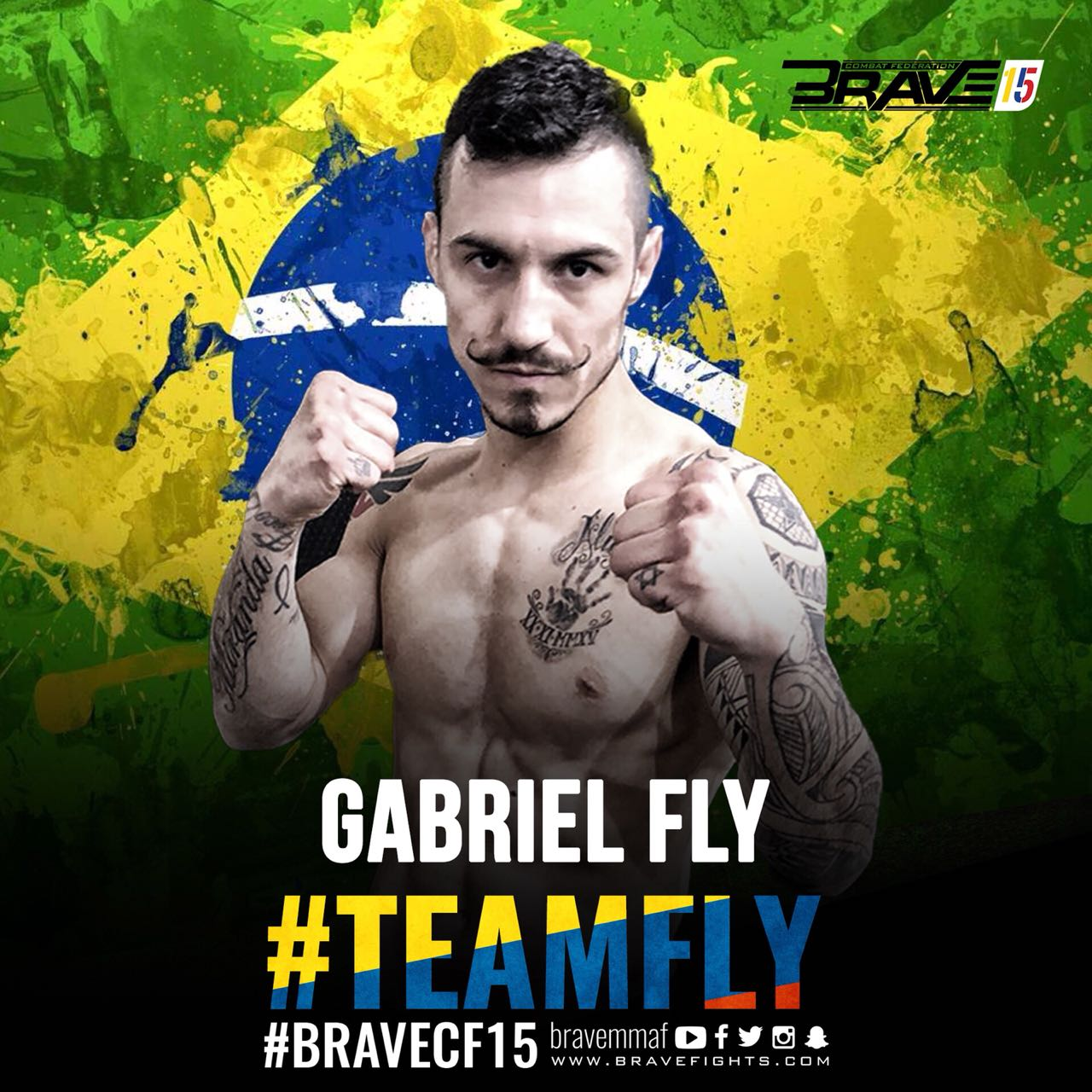 "Gabriel ""Fly""' looks forward to Brave debut: 'I'm here to be a champion' - Brave championship"