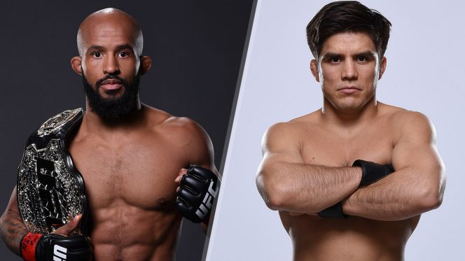 Interview with Demetrious Johnson and henry Cejudo -