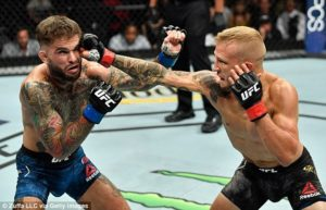 UFC: Cody Garbrandt suffered broken hand in loss to TJ Dillashaw - Cody