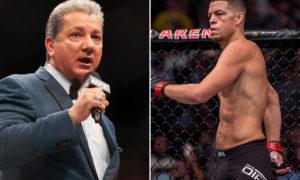 UFC: Bruce Buffers says Nate Diaz should bow down to Dana White - Buffers