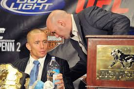 Dana White: I'm not interested in GSP against Khabib or Conor -