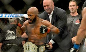 UFC: Demetrious Johnson pretends to be T.J. Dillashaw during UFC media call - Demetrious Johnson