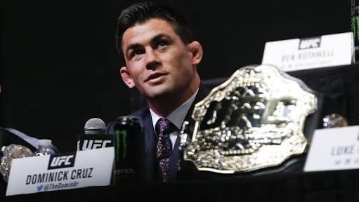 UFC: Dominick Cruz feels he deserves a title shot vs. TJ Dillashaw - Dominick Cruz