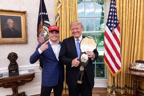 UFC: Colby Covington says meeting Donald Trump was the 'best day of my life', shares a funny story Trump told him at the White House - Colby Covington