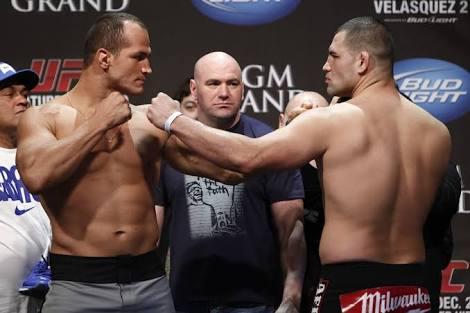UFC: Junior dos Santos interested in a fourth fight with Cain Velasquez - Junior Dos Santos