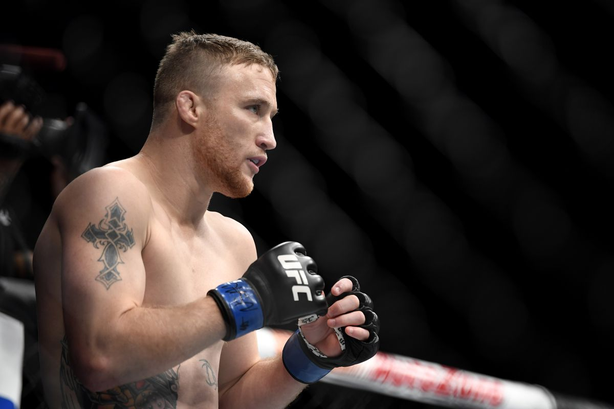 UFC: Justin Gaethje wants to be the best fighter in the world - Justin Gaethje