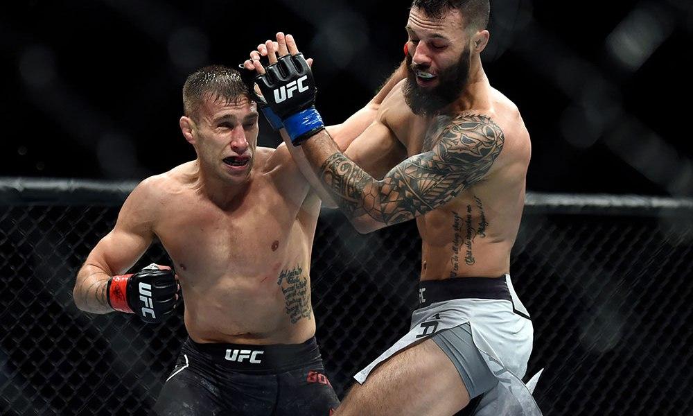 UFC: Hakeem Dawodu vs. Kyle Bochniak announced for UFC 231 - Bochniak