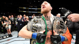 Conor McGregor back at the #1 spot on the UFC ranking. -