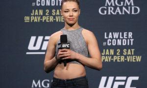 "UFC: Rose Namajunas responds to Joanna Jedrzejczyk's comments about the Polish being the ""true top 115-pounder"" - Rose Namajunas"