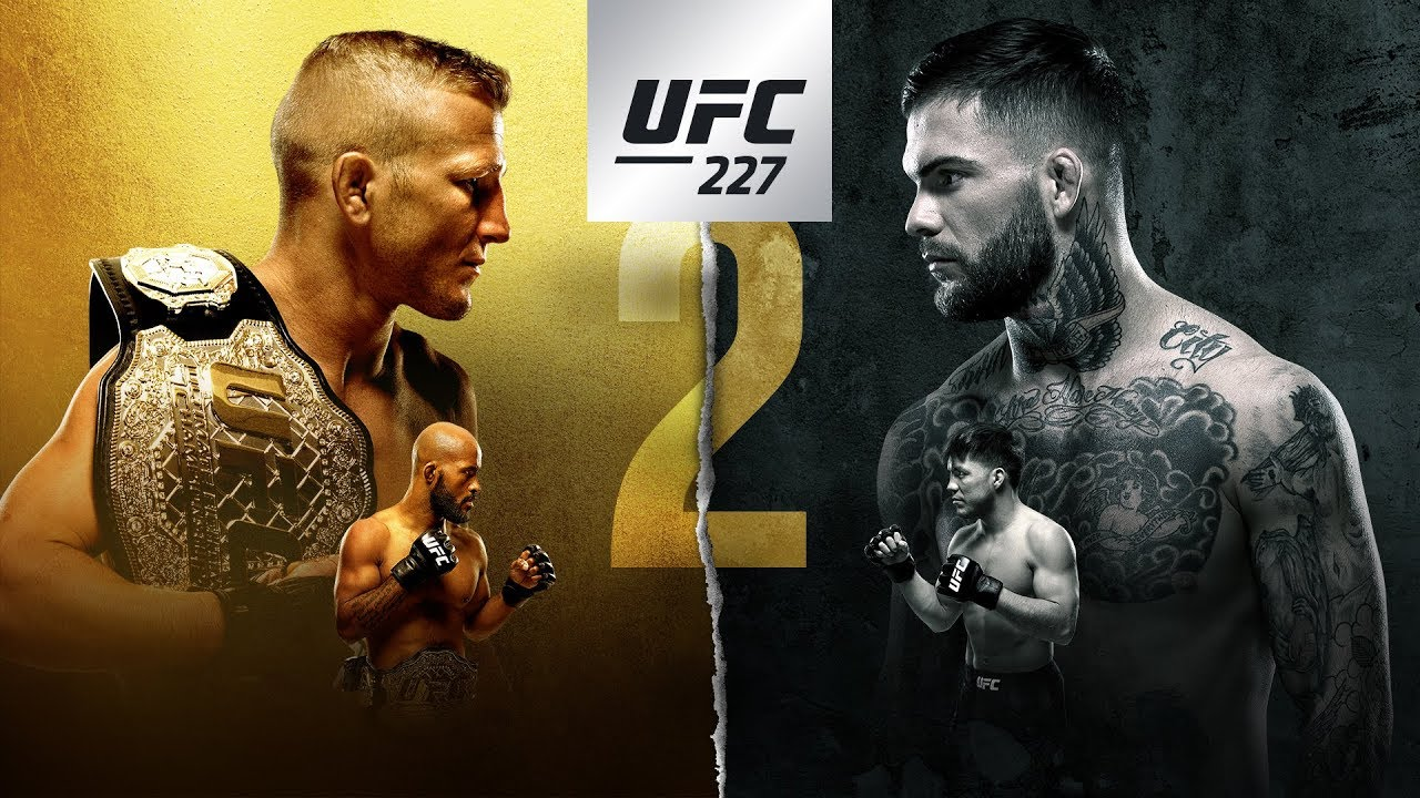 UFC 227 Dillshaw vs. Garbrant 2: Play by Play Updates & Live Results -