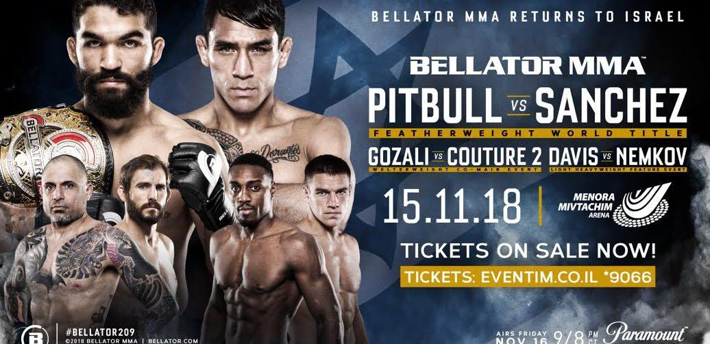 Bellator: Phil Davis vs Vadim Nemkov set for October 15 in Tel Aviv, Israel - Israel