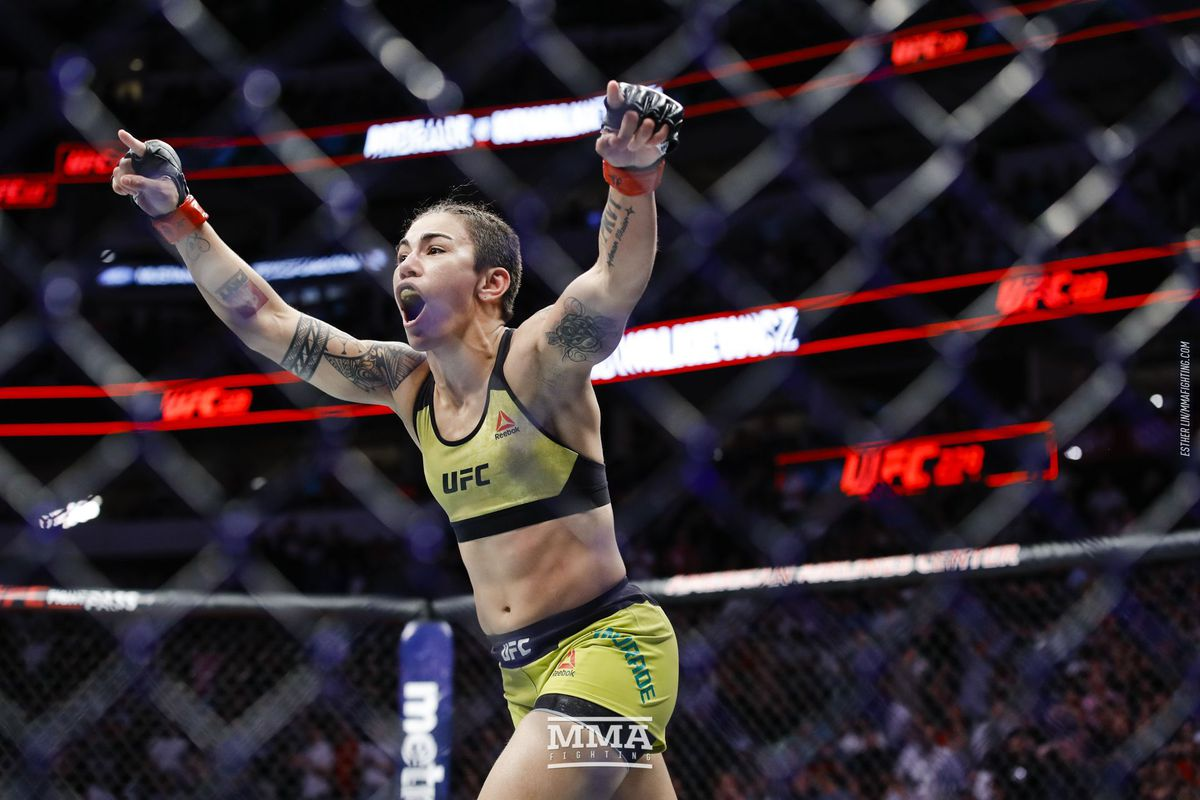 UFC: Jessica Andrade offered to step in for Nicco Montano, fight for flyweight title at UFC 228 - jessi