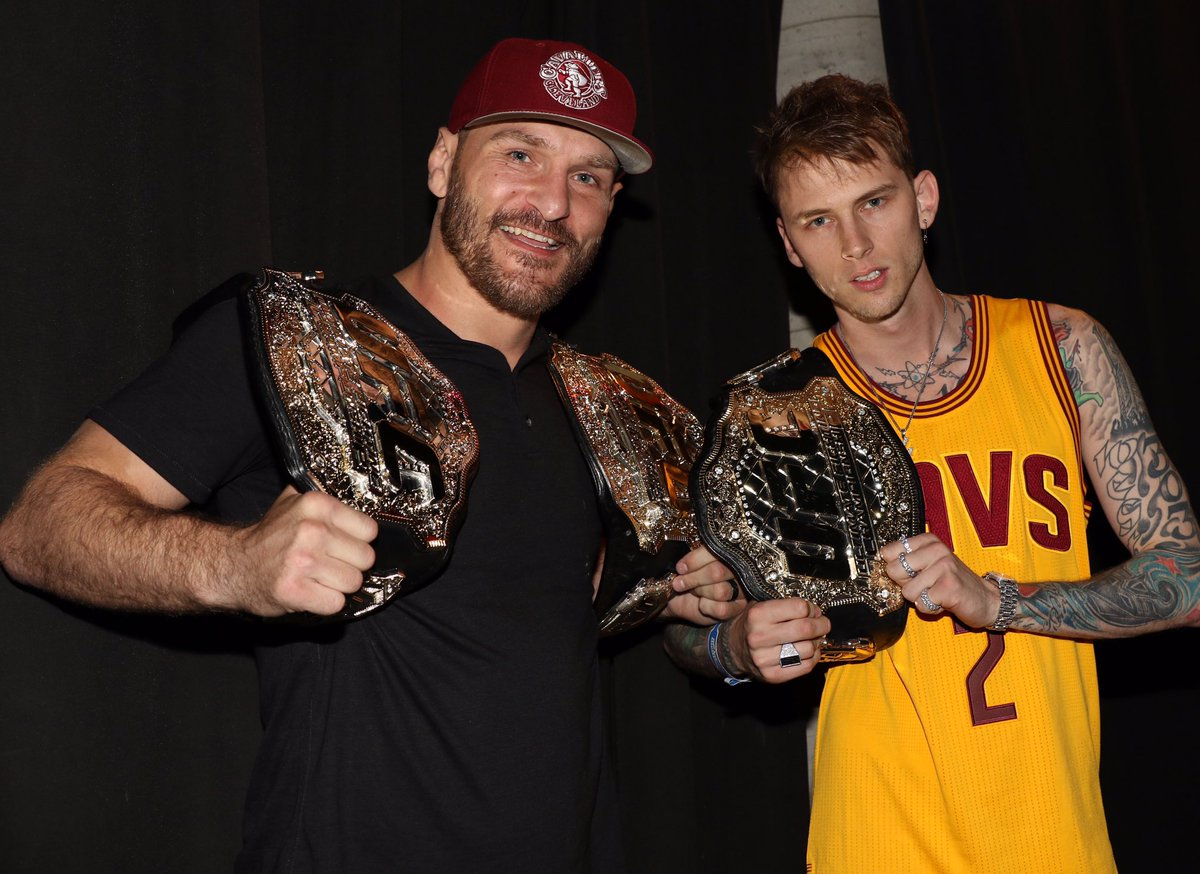 The baddest man on the planet gets involved in the Eminem vs Machine Gun Kelly beef! - Kelly