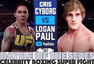Wait what....Cris Cyborg vs Logan Paul?! - Paul