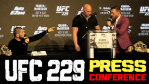Relive all the ruckus of the Conor - Khabib press conference (Video) -