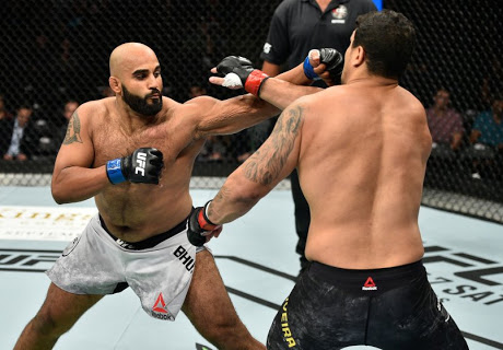 "Arjan Bhullar channels his inner Nate Diaz: ""They're all on steroids!"" - nate"