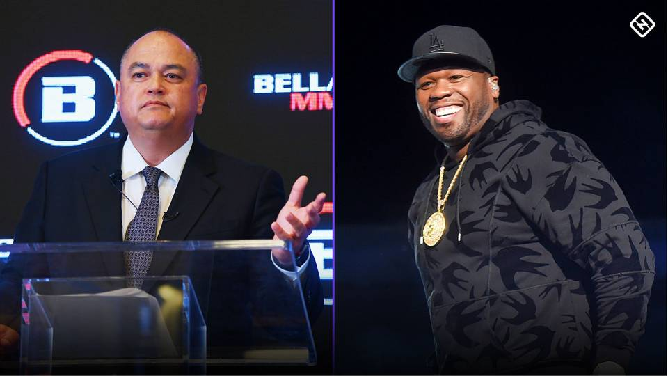 After months of speculation, 50 Cent and Bellator finally agree on terms - 50