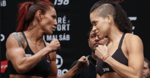 Cris Cyborg wants a backup for UFC 232...in case Amanda Nunes no shows -