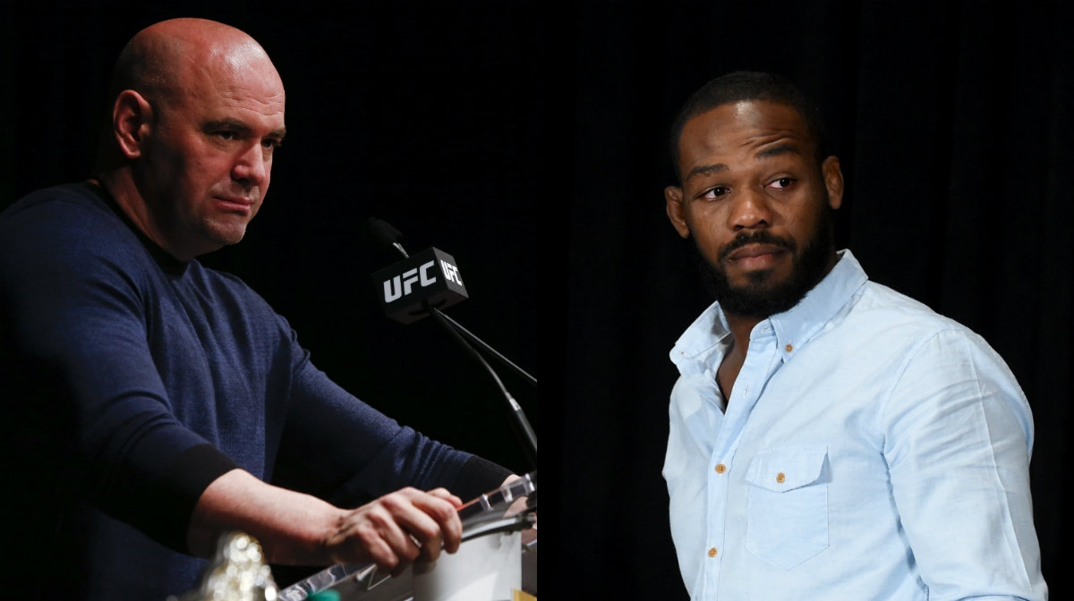 """Dana White on Jon Jones headlining UFC 230: """"Not true!"""" - jon jones"""
