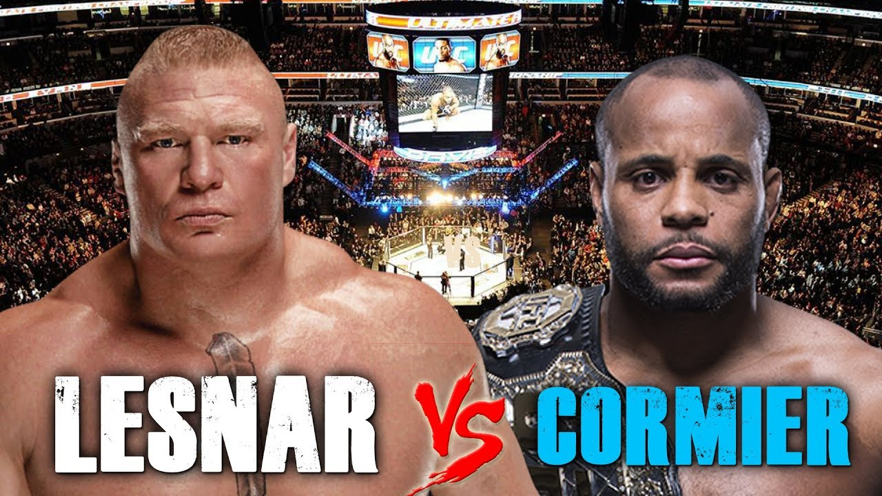 UFC/WWE: Jon Jones predicts that Daniel Cormier will defeat Brock Lesnar - Jon Jones