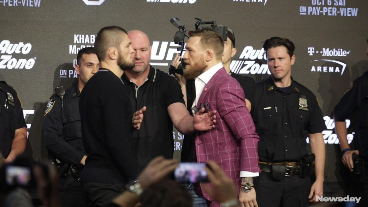 What Conor McGregor told Khabib Nurmagomedov during their face-off will chill your bones - Conor McGregor