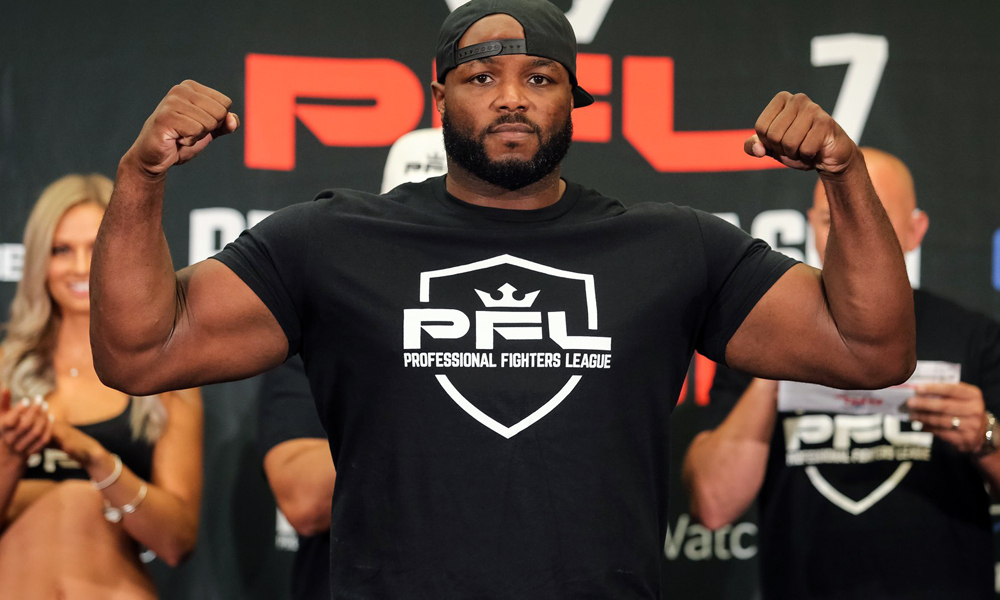 PFL: Leroy Johnson undergoes surgery following a brutal knockout - LeRoy