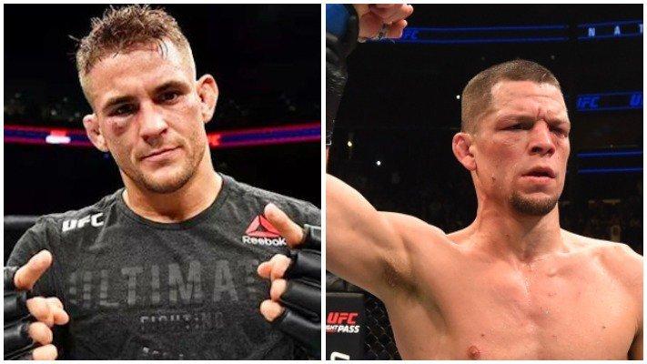 UFC: Nate Diaz vs Dustin Poirier set for 165 pound title - diaz