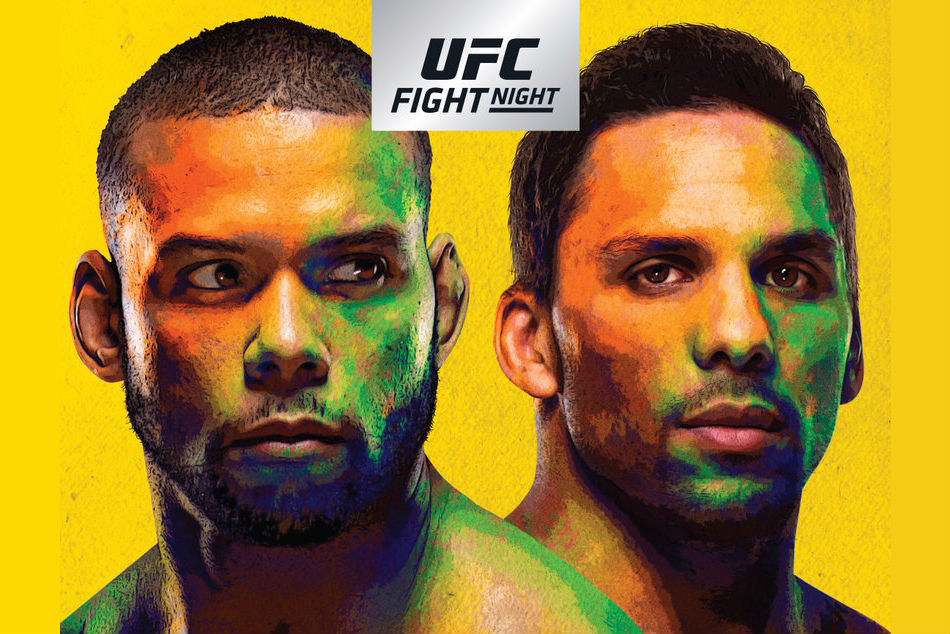 UFC Fight Night 137 Santos vs. Anders: Fight by Fight Play and Live Results -