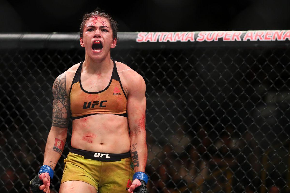 UFC 228 Results - Jessica Andrade Knocksout Karolina Kowalkiewicz via KO in Round 1 - ufc
