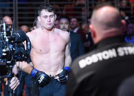 """UFC: Darren Till still determined to become """"greatest fighter of all time"""" - Darren"""