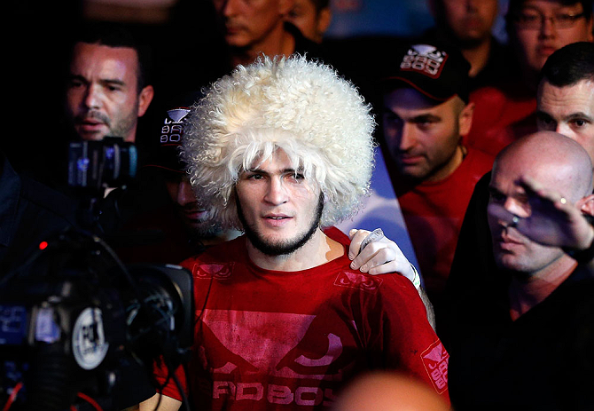 Khabib takes another shot at Conor McGregor's 'It's only business' comment - Khabib