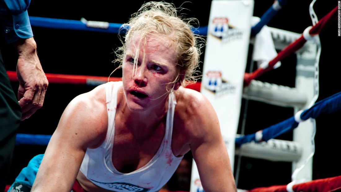 Holly Holm recalls getting knocked out and her redemption in the rematch - Holly