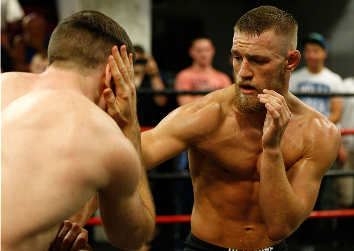 Conor McGregor looks incredibly sharp and ready at his open workouts - Conor McGregor