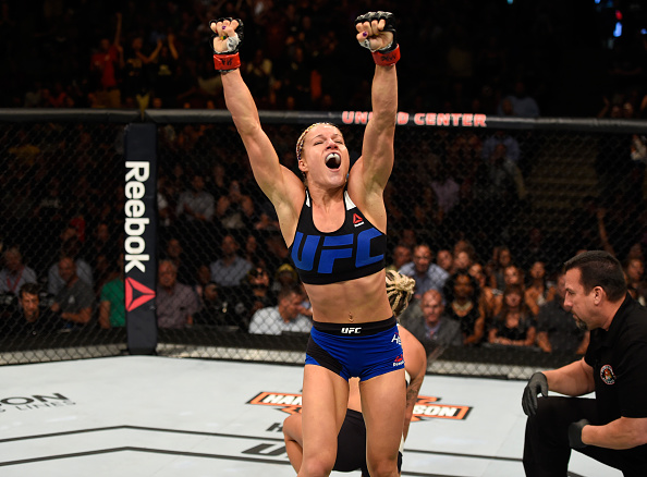 It's pretty clear that Felice Herrig dislikes Conor McGregor and his 'minions' - felice