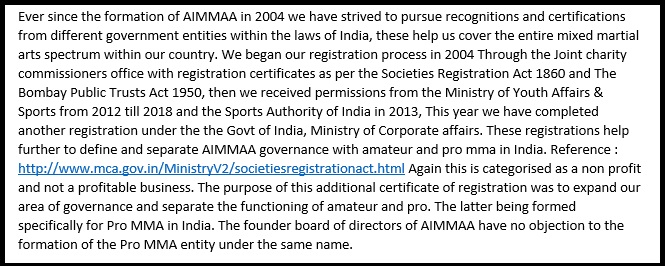 MMA India Exclusive: The AIMMAA-IMMAF saga - Everything you need to know! -