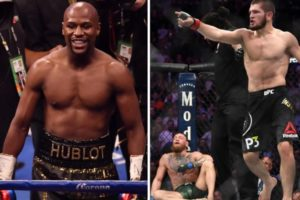 Twitter reacts to Floyd Mayweather vs Khabib Nurmagomedov fight talks - Floyd