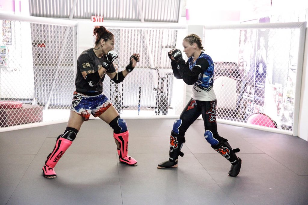Watch out Amanda Nunes - Cyborg and Shevchenko are training together! -