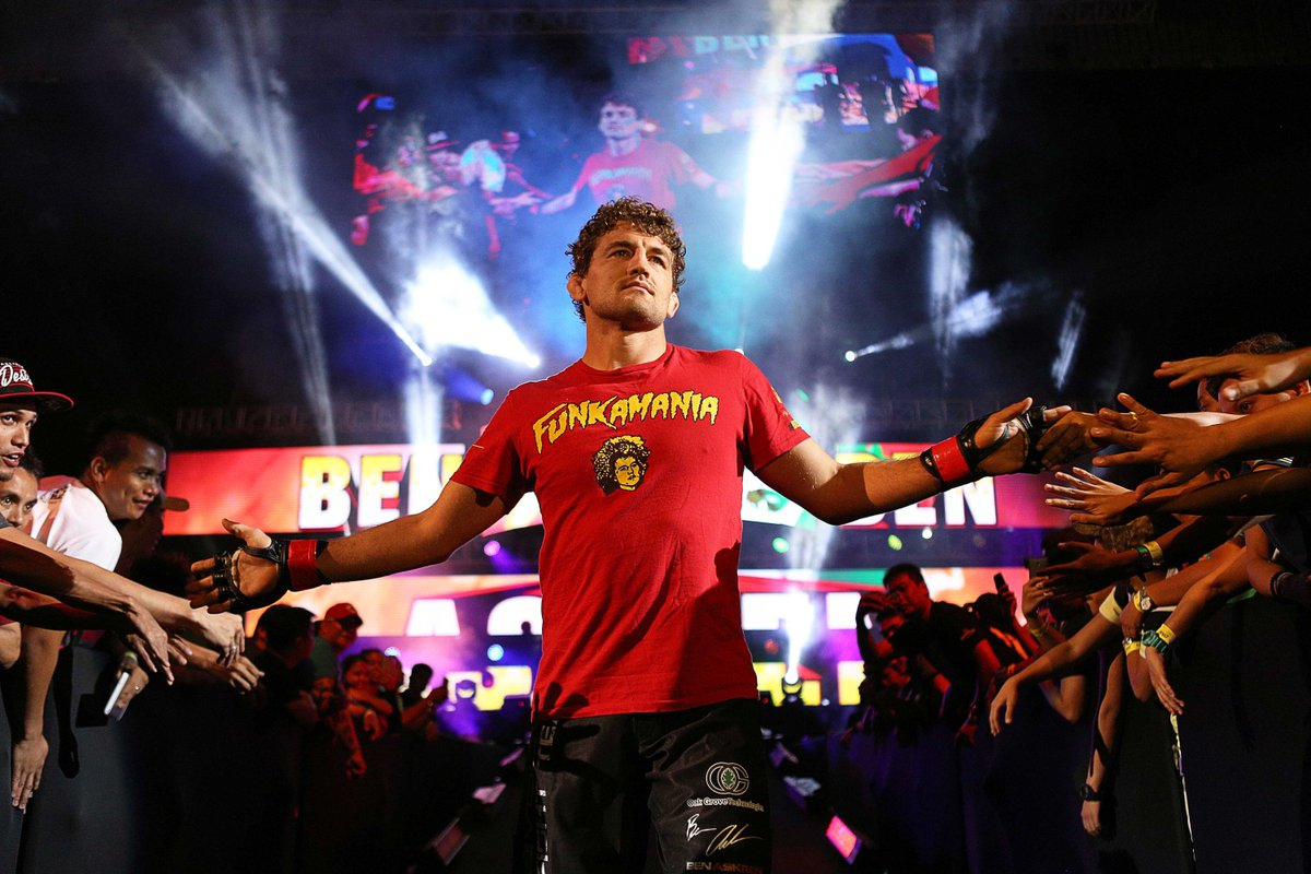 Even after signing him to the promotion, Dana White still hasn't unblocked Ben Askren on Twitter - Askren